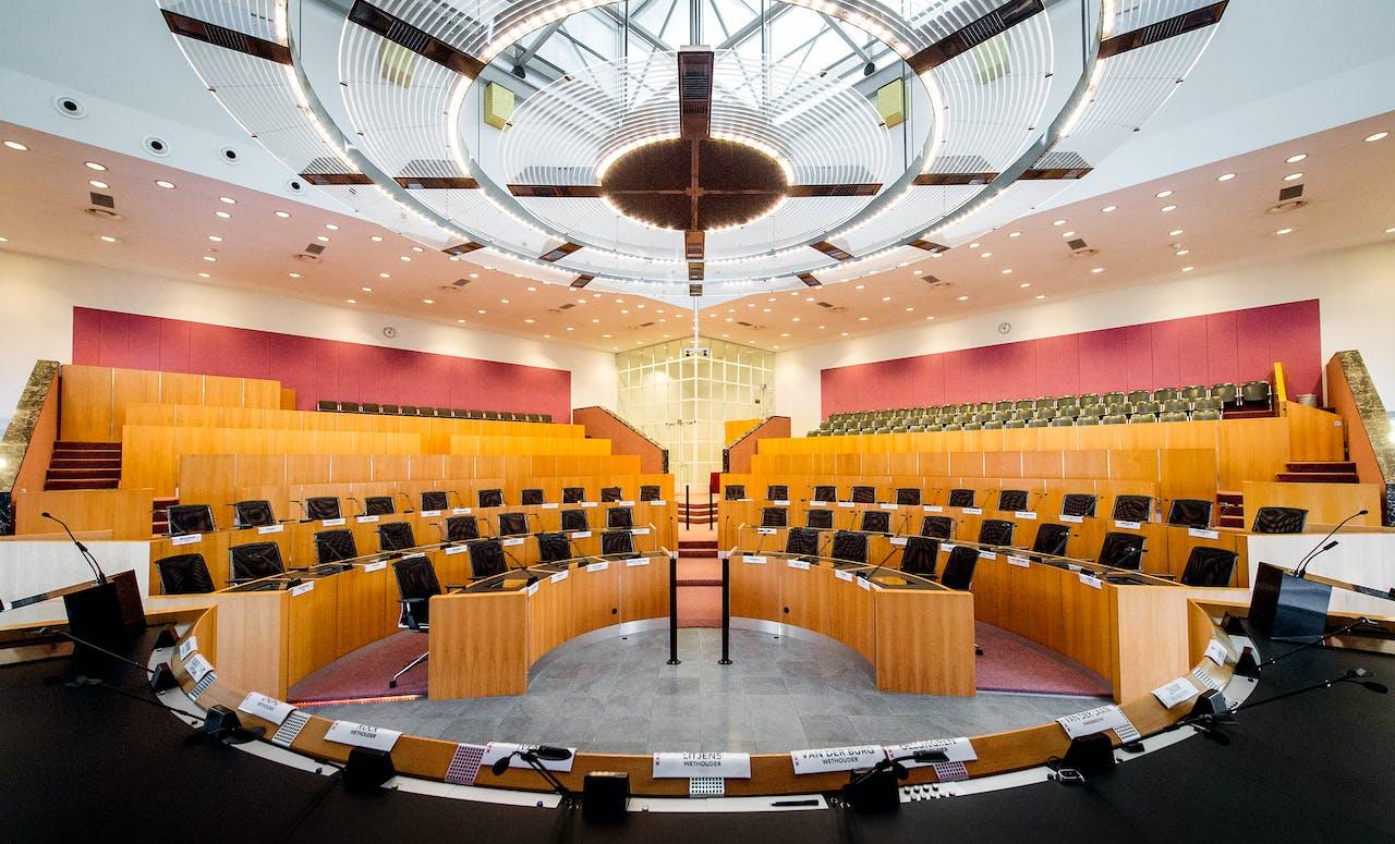 Raadszaal in Amsterdam. Foto ANP
