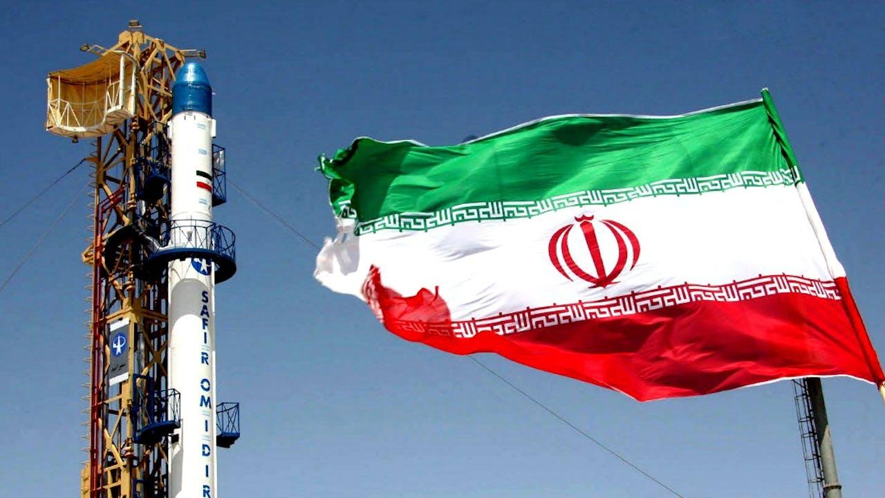 Deze raket werd in 2008 door Iran gebruikt voor het vervoeren van een sateliet. Foto: ANP