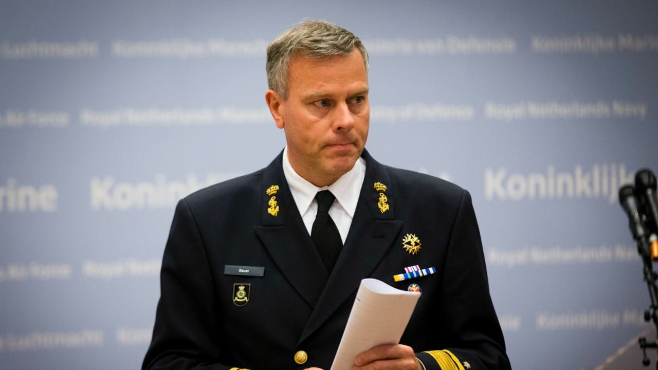 Plaatsvervangend Commandant der Strijdkrachten Rob Bauer. Foto: ANP