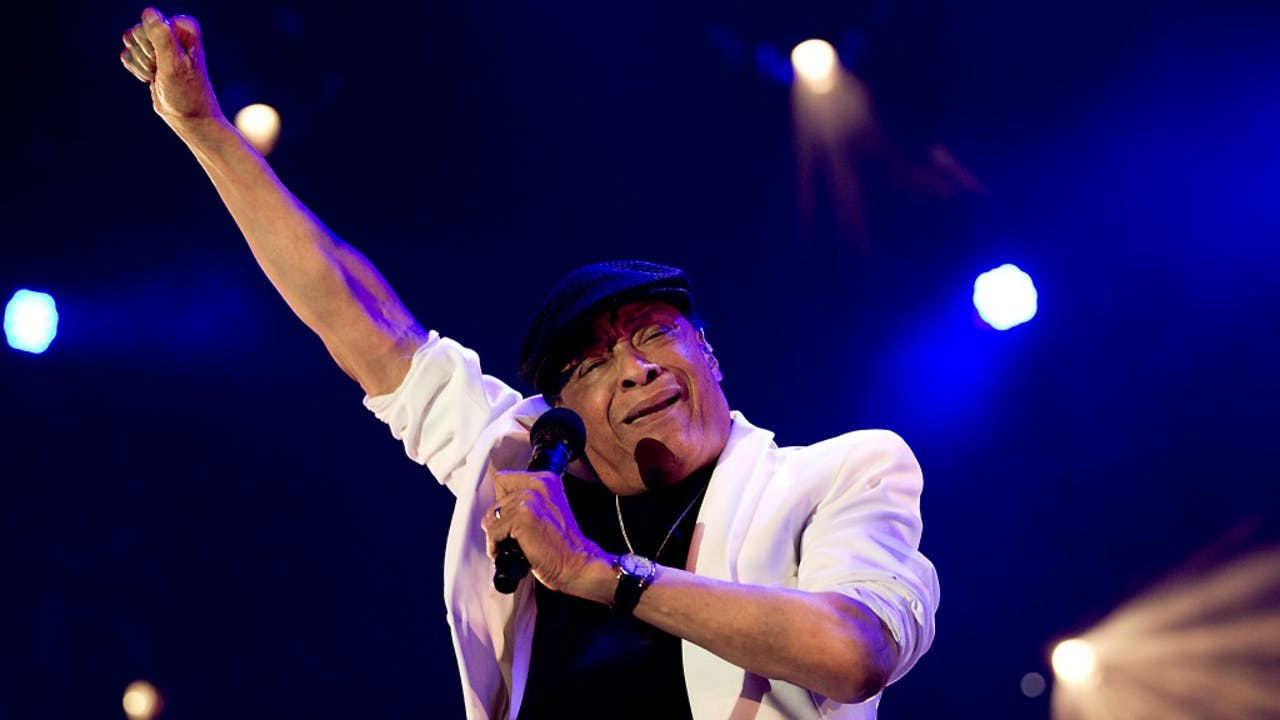 Al Jarreau in 2014 op het North Sea Jazz Festival in Rotterdam. Foto: ANP Kippa