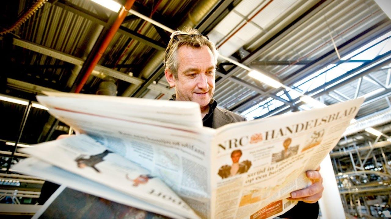 NRC hoofdredacteur Peter Vandermeersch. Foto: ANP