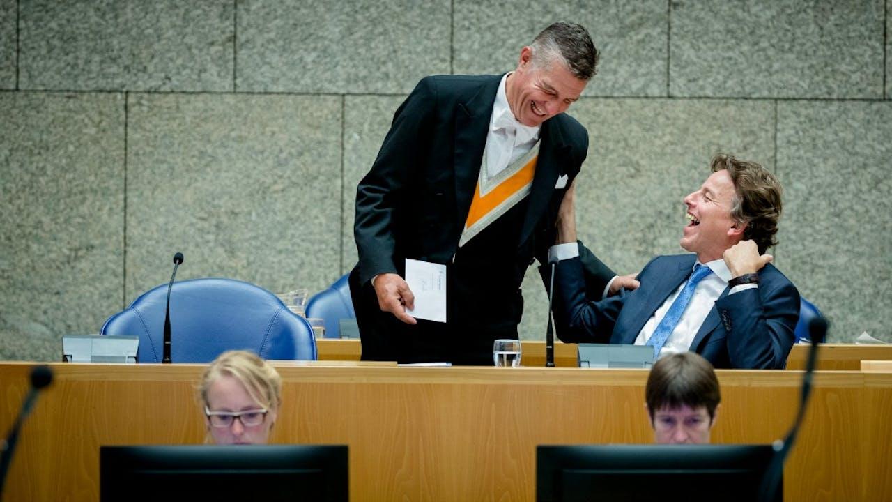 Bert Koenders tijdens het debat van vanavond. Foto: ANP.