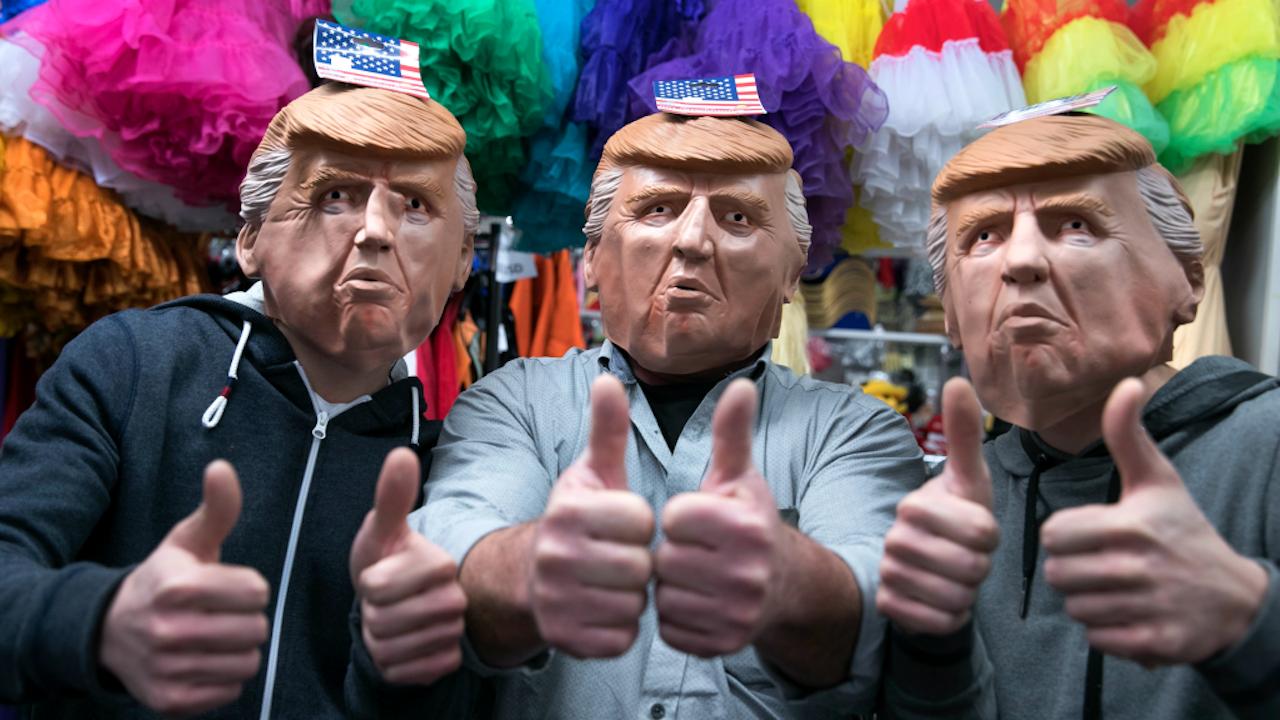 Deze maskers doen het dit jaar ook goed. Foto: ANP