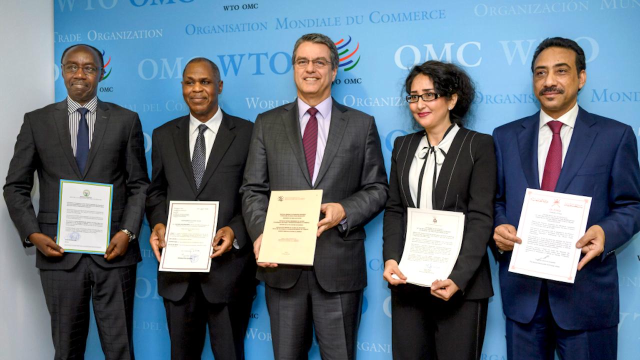 Ratificatie van het verdrag door Rwanda, Tsjaad, Jordanië, en Oman. Foto: ANP