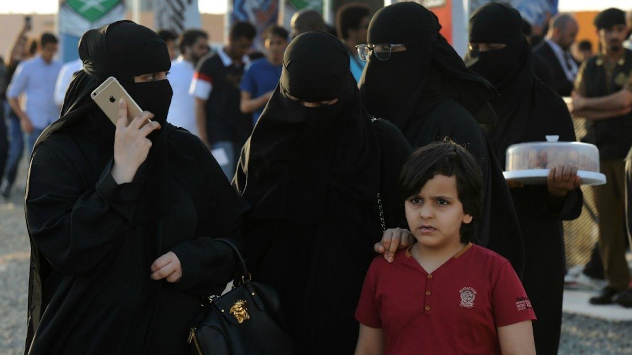 Vrouwen in Saoedi-Arabië. Foto: ANP.