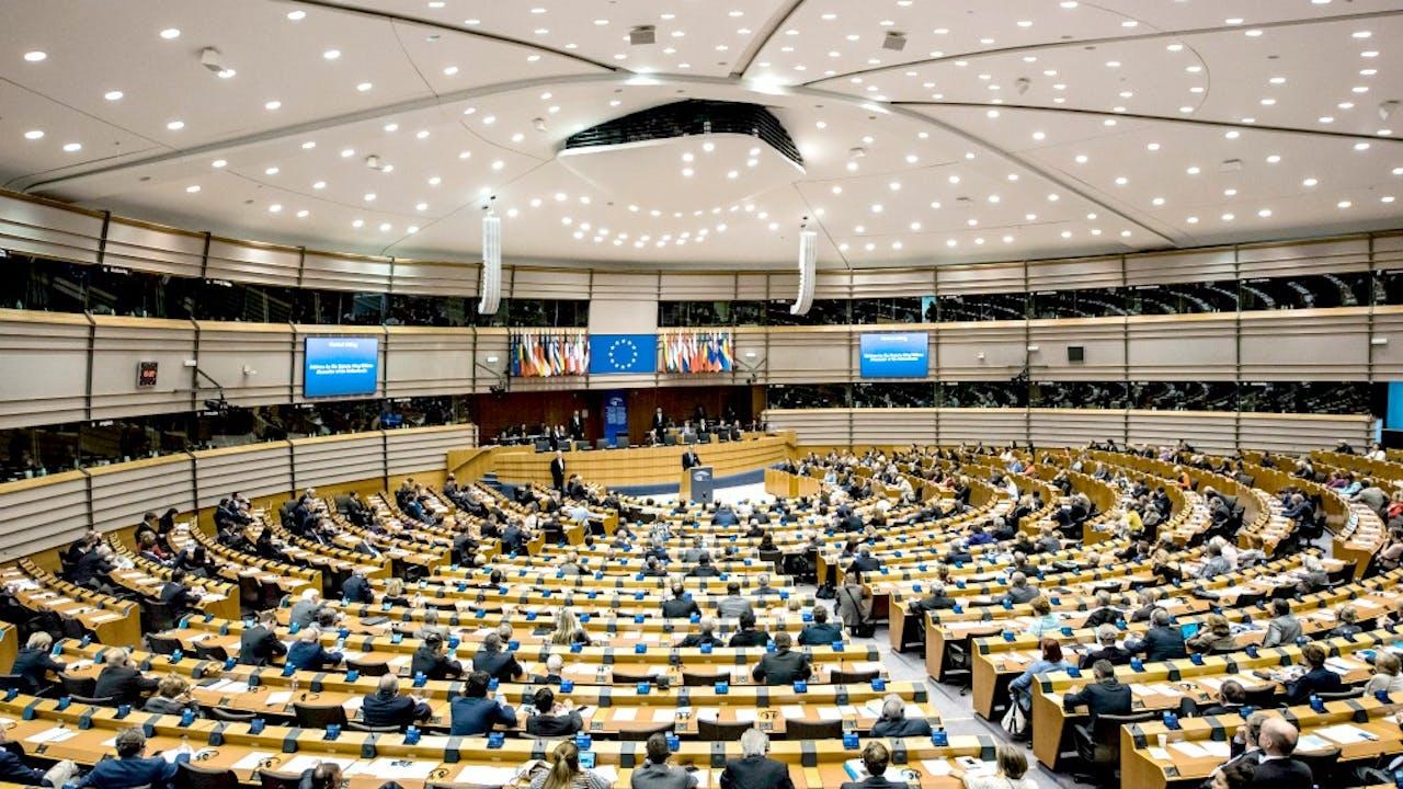 Het Europees Parlement in Brussel. Foto: ANP