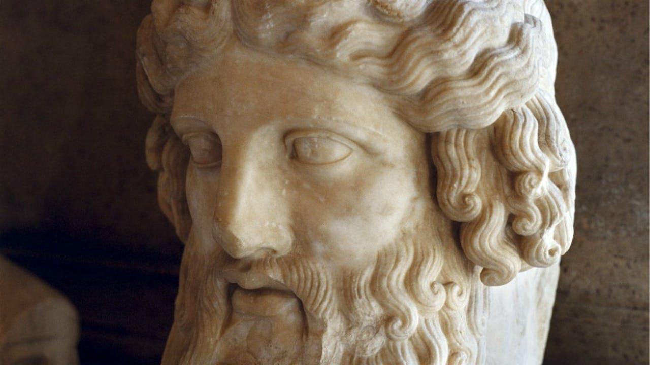 Plato in het Capitolijns Museum te Rome. Foto: Sijmen Hendriks/Hollandse Hoogte