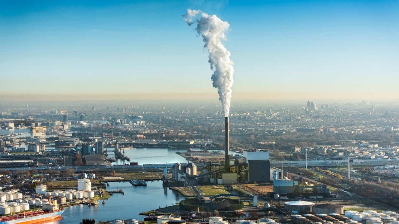 De kolencentrale aan de Hemweg in Amsterdam. Foto: ANP