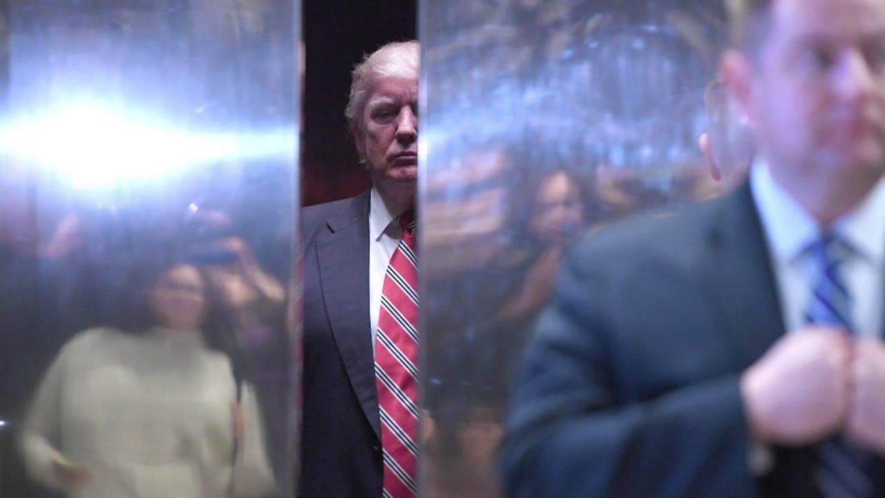 Zou Trump hier zijn elevator pitch oefenen? Foto: HH/Anthonny Behar