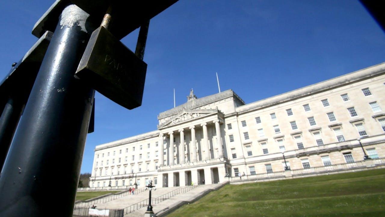 Het Parlementsgebouw in Noord-Ierland. Foto: ANP