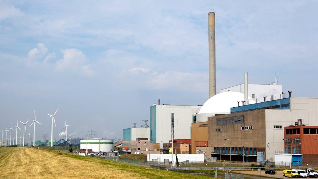 De kerncentrale in Borssele, waar delta mede-eigenaar van is. Foto: ANP