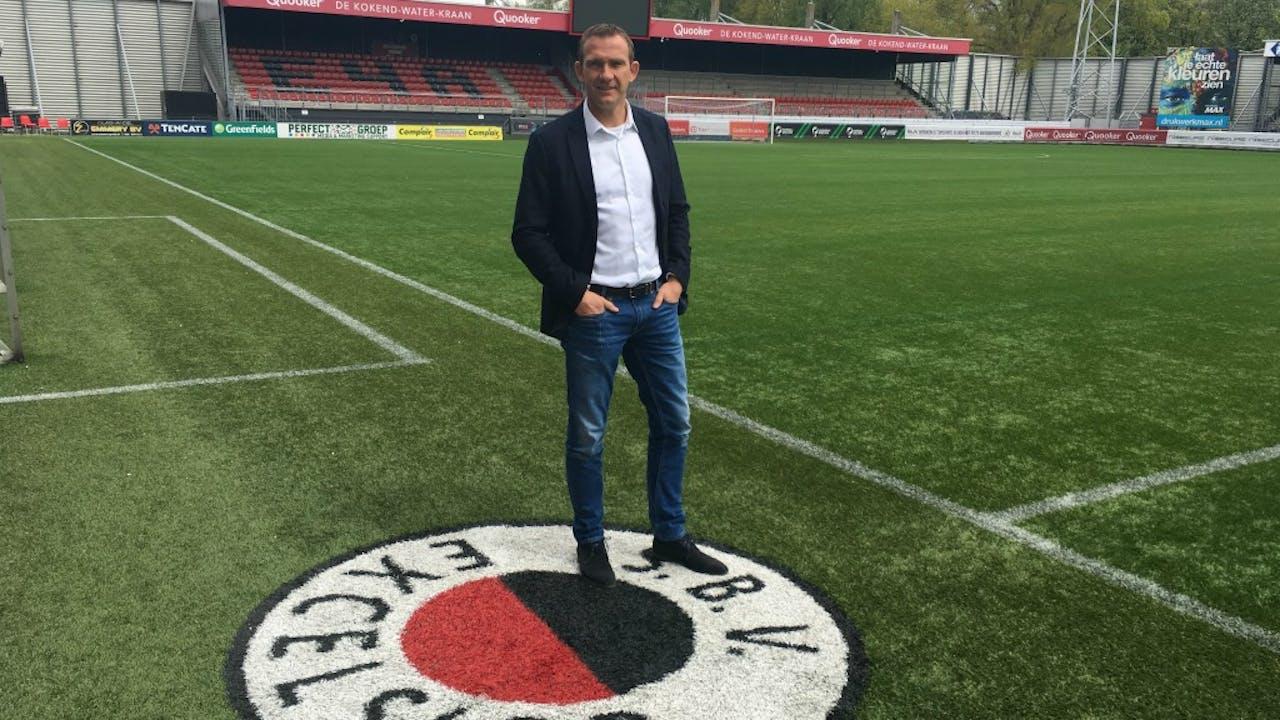 Ferry de Haan, in 1999 nog landskampioen met Feyenoord, nu Excelsior-directeur. Foto: Harmen van der Veen