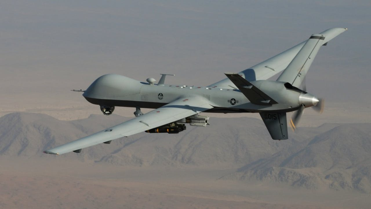 Foto: HH/Lt. Col. Leslie Pratt - MQ-9 Reaper VS