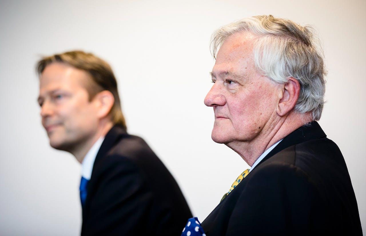 Antony Burgmans (rechts). Foto ANP