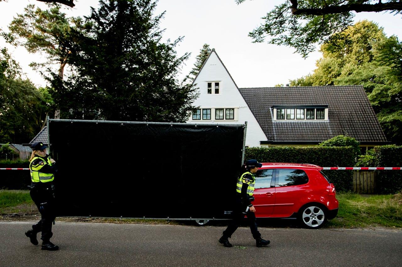 Het huis van de vermoorde Koen Everink. Foto ANP