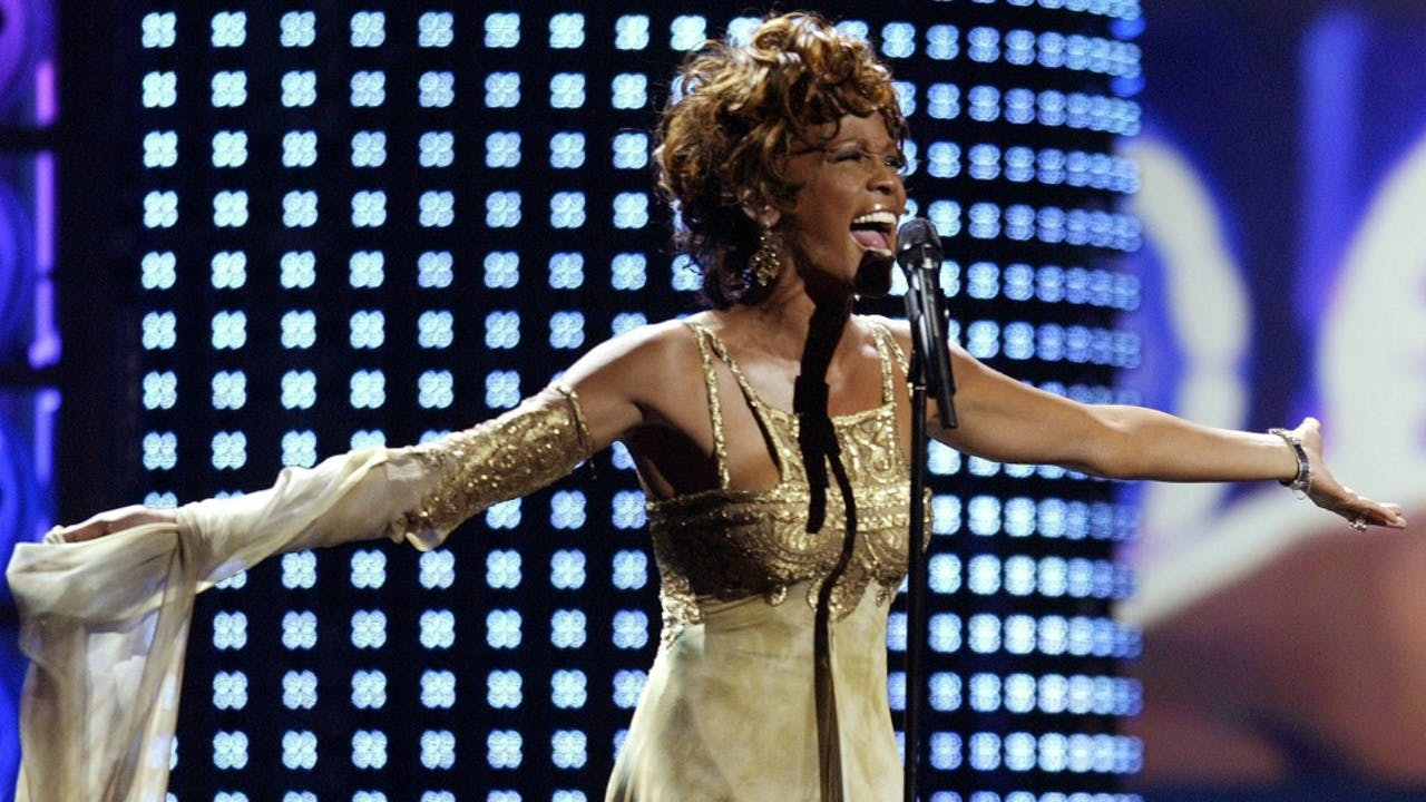 Whitney Houston in 2004. Foto: ANP/EPA