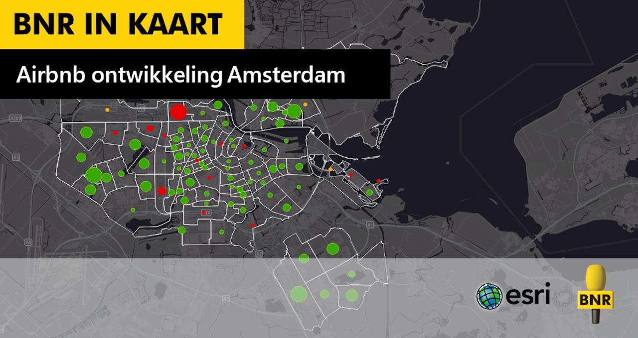 Kaart\: Esri Nederland
