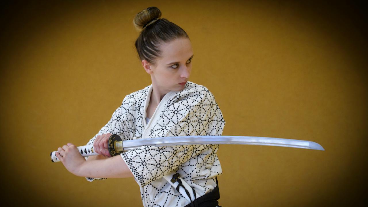 Katana, het lange zwaard van Japanse Samoerai (Foto: HH)