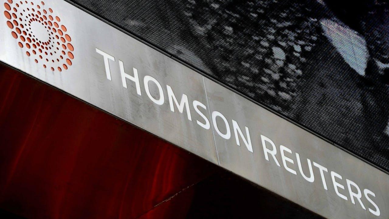 Thomson Reuters, eigenaar van de World-Check-lijst. Foto ANP