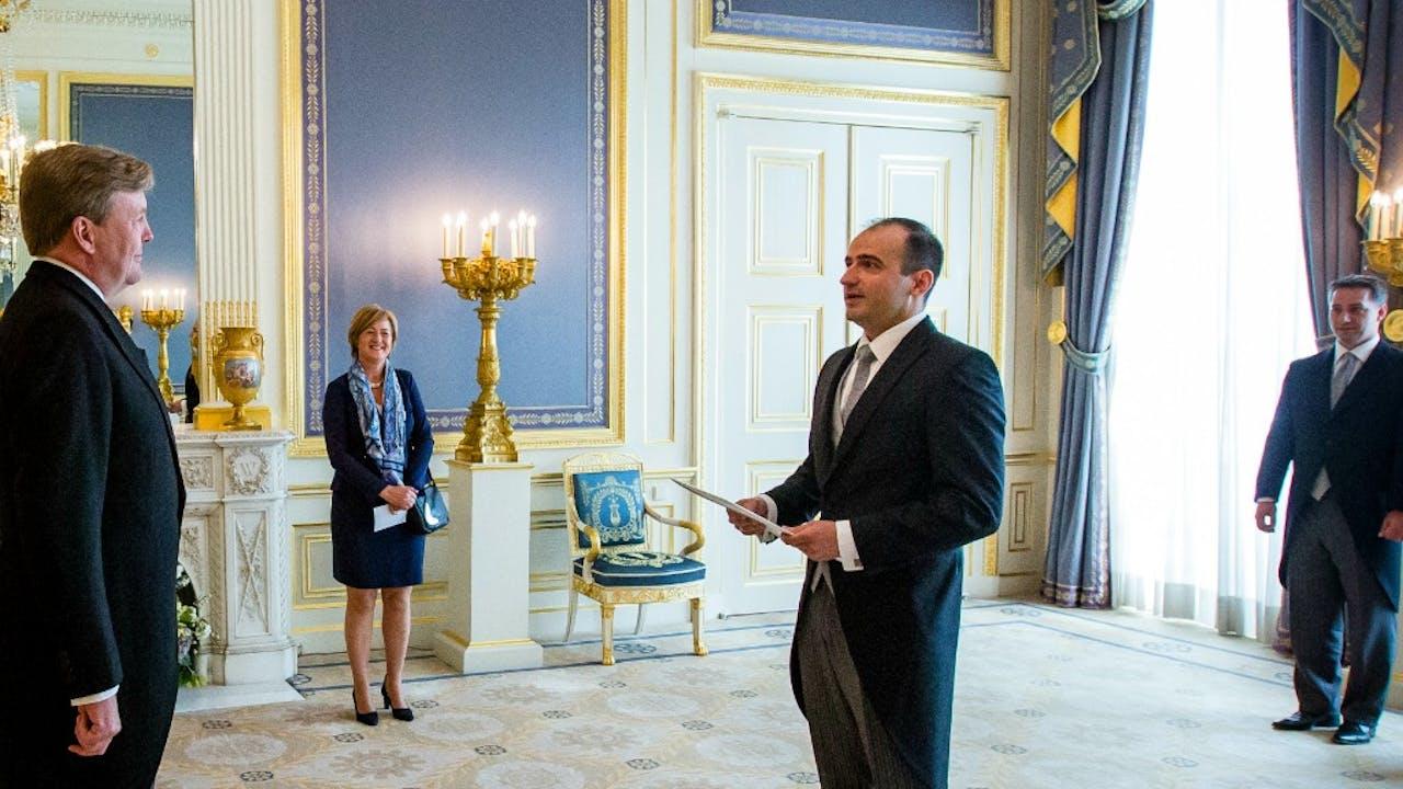 De Hongaarse ambassadeur in Nederland, András Kocsis. Foto: ANP
