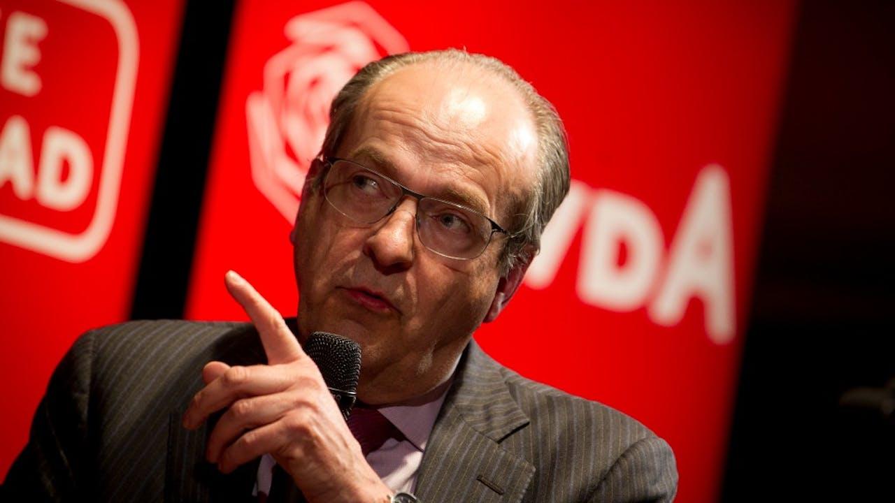 PvdA-prominent en oud-minister Ad Melkert. Foto ANP