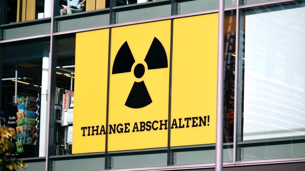 Ook over de Duitse grens bij Aken maken de mensne zich zorgen over kerncentrale Tihange. Foto: HH/Peter Hilz