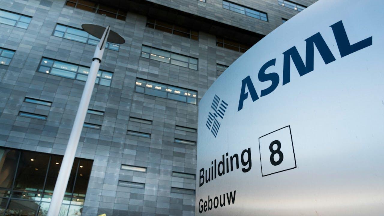 ASML trapt woensdag het kwartaalcijferseizoen af. Foto ANP XTRA