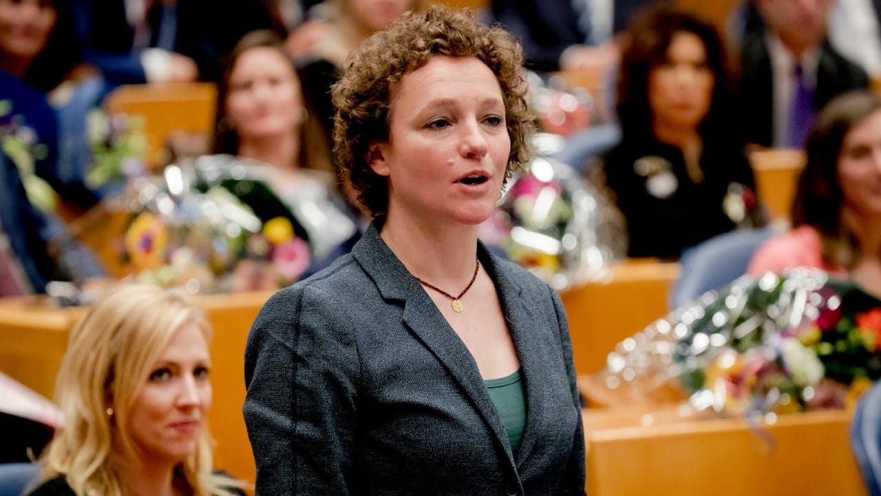 Renske Leijten (SP). Foto ANP