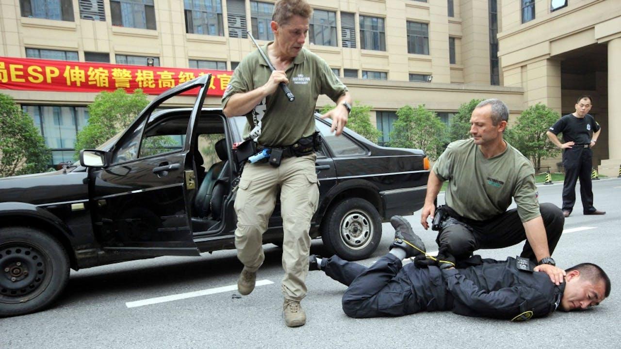 Foto: HH/Wang feng - Tsjechische politietraining in China