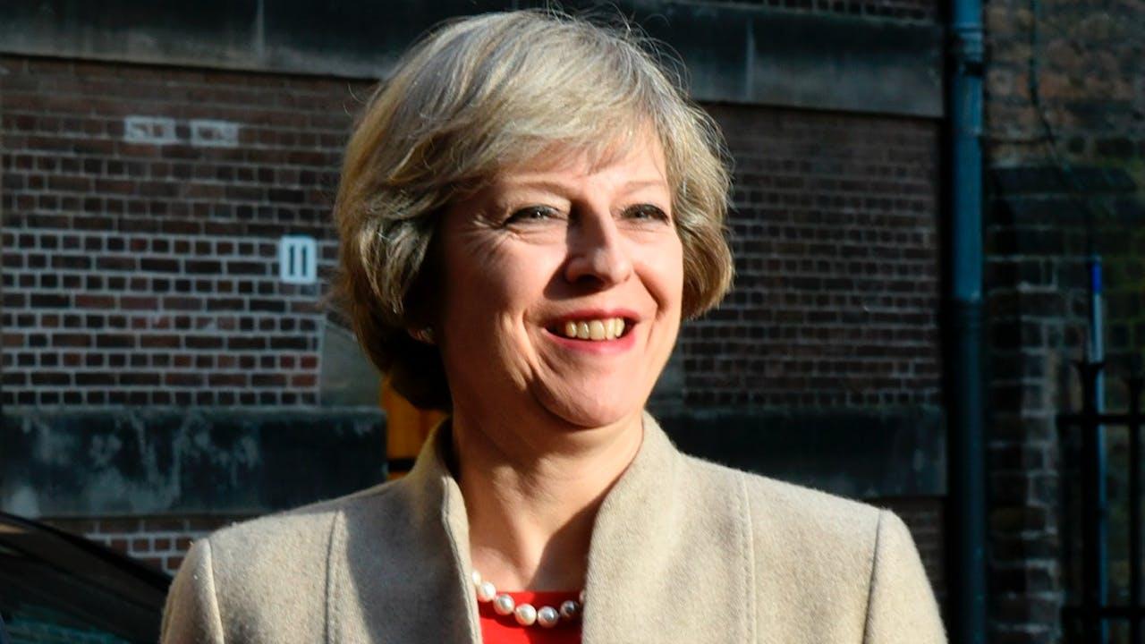 Theresa May. Foto: HH/Peter Hilz