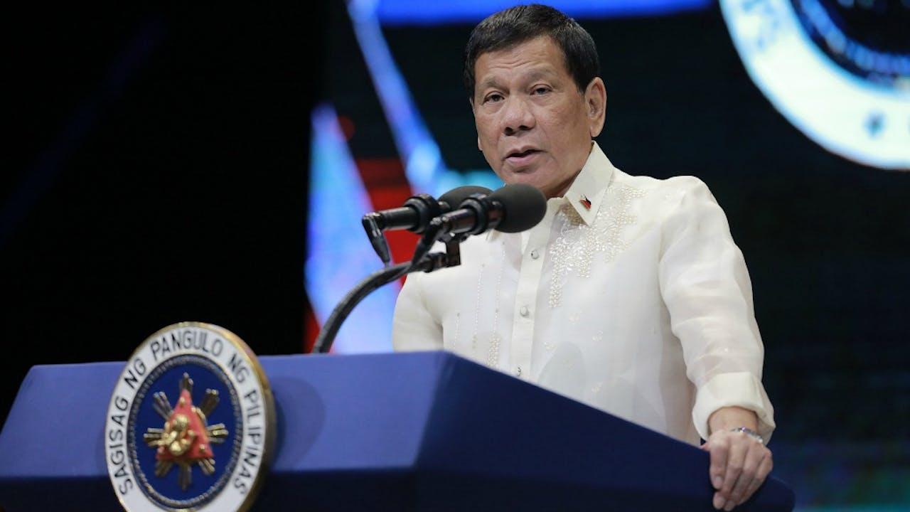 De Filipijnse president Rodrigo Duterte. Foto: HH/Rouelle Umali Xinhua