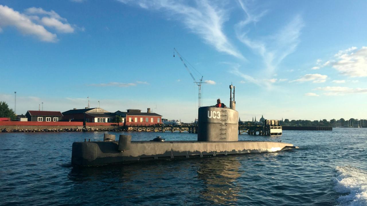 De 'UC3 duikboot van Peter Madsen. Foto: ANP/EPA