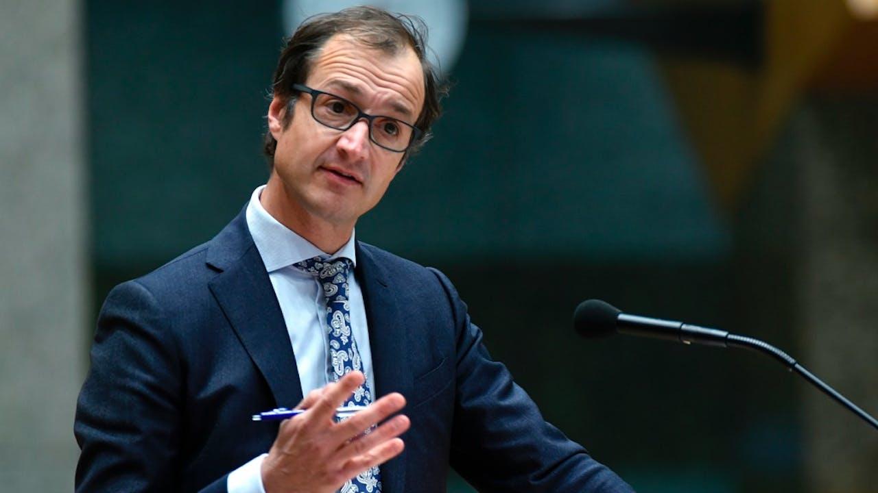 Staatssecretaris Eric Wiebes van Financiën. Foto: HH/Peter Hilz