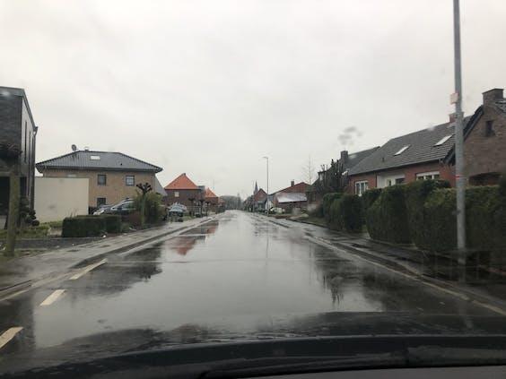 Gangelt, vlak over de Duitse grens