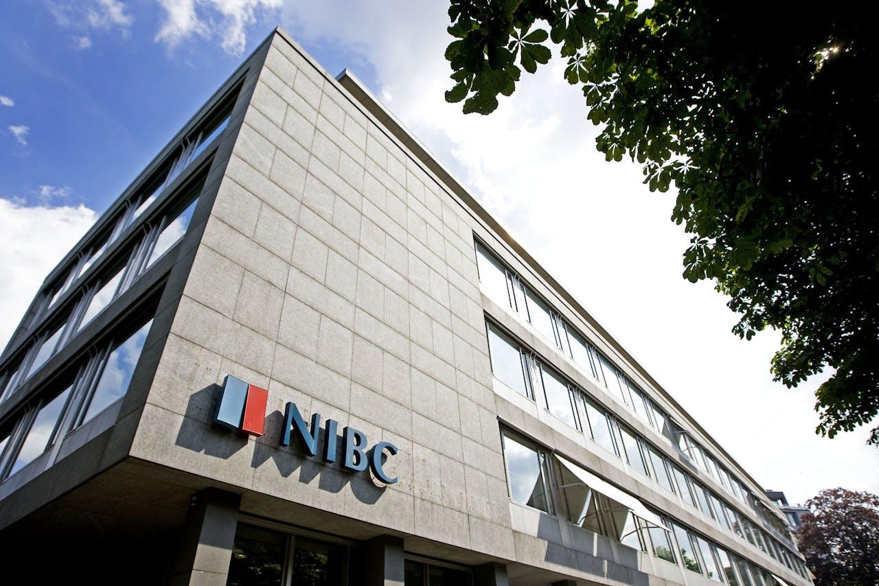 DEN HAAG - Exterieur van hoofdkantoor van NIBC Bank in Den Haag.