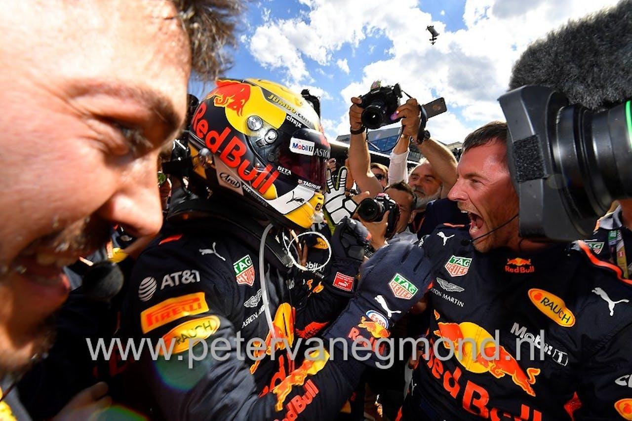Max Verstappen wint de Grand Prix van Oostenrijk