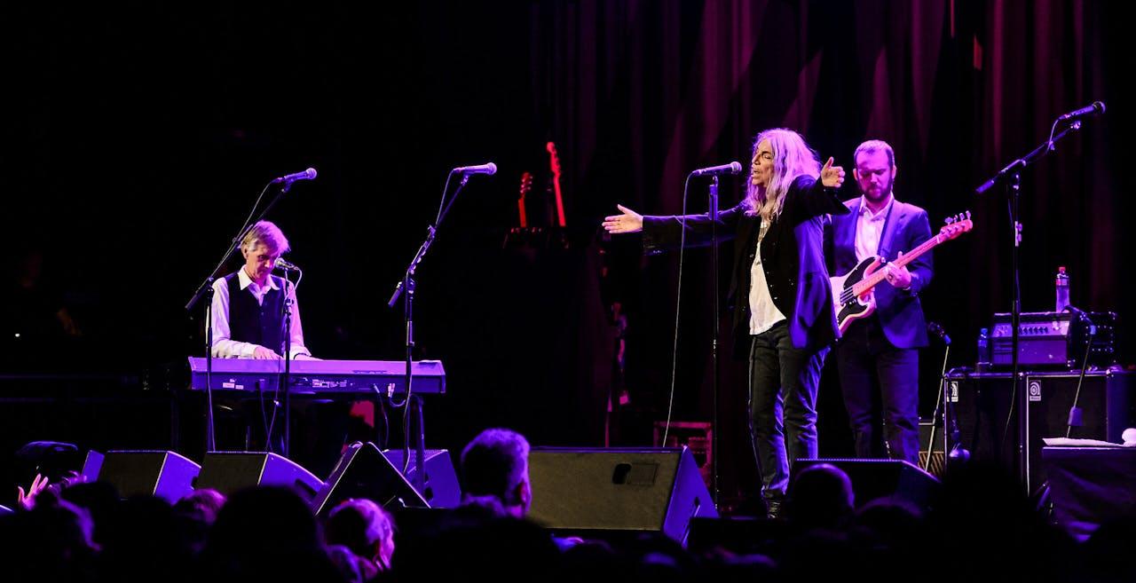 Patti Smith treedt op in Tivoli Vredenburg