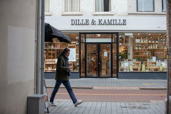 Filiaal van Dille & Kamille in Den Bosch.