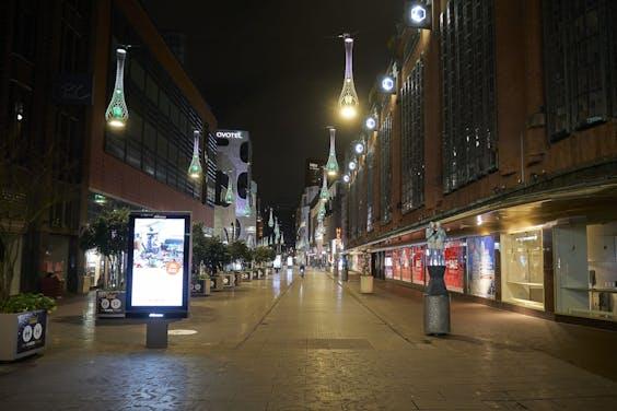 Winkelstraat in Den Haag