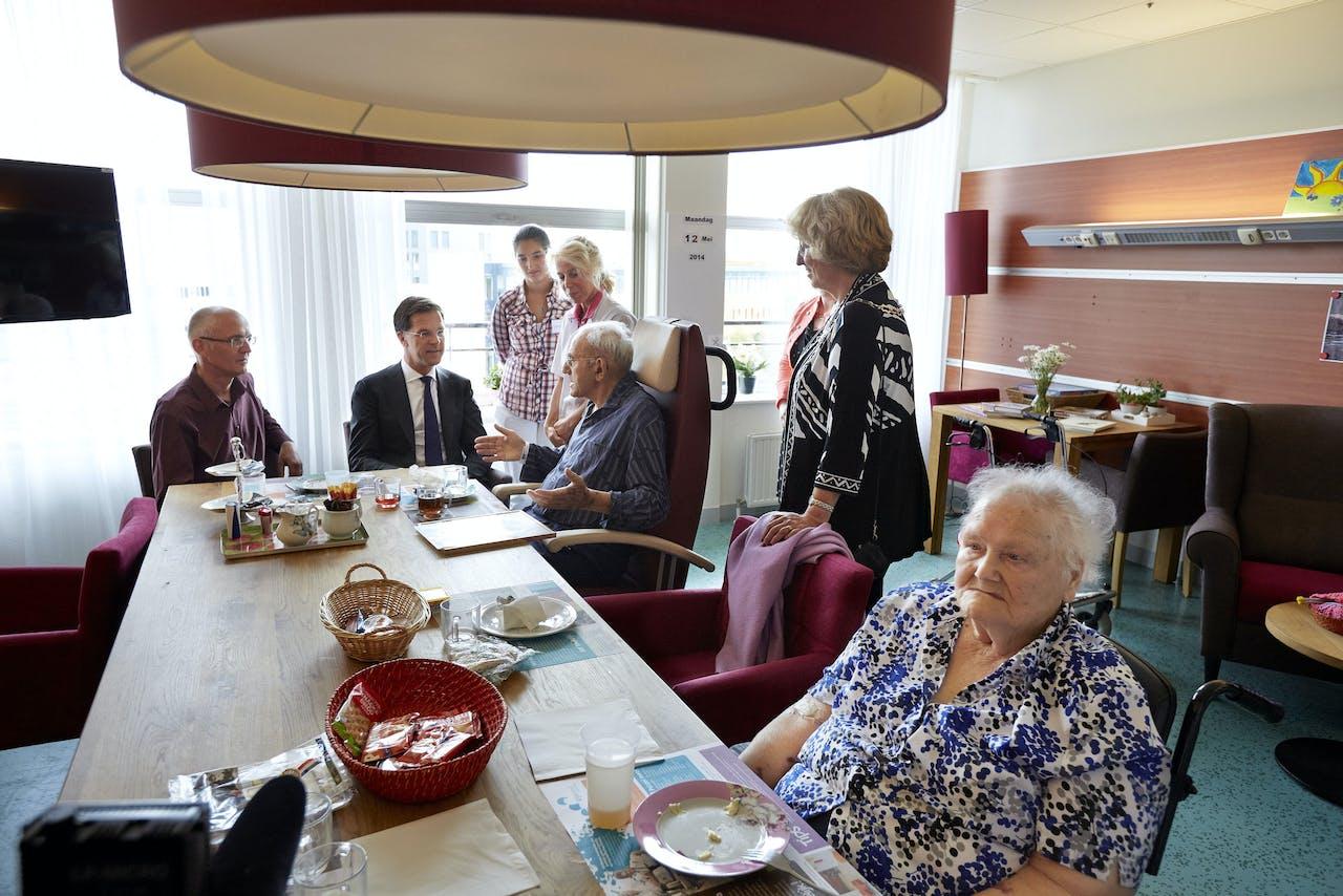 Patiënten in het Rijnland Ziekenhuis.
