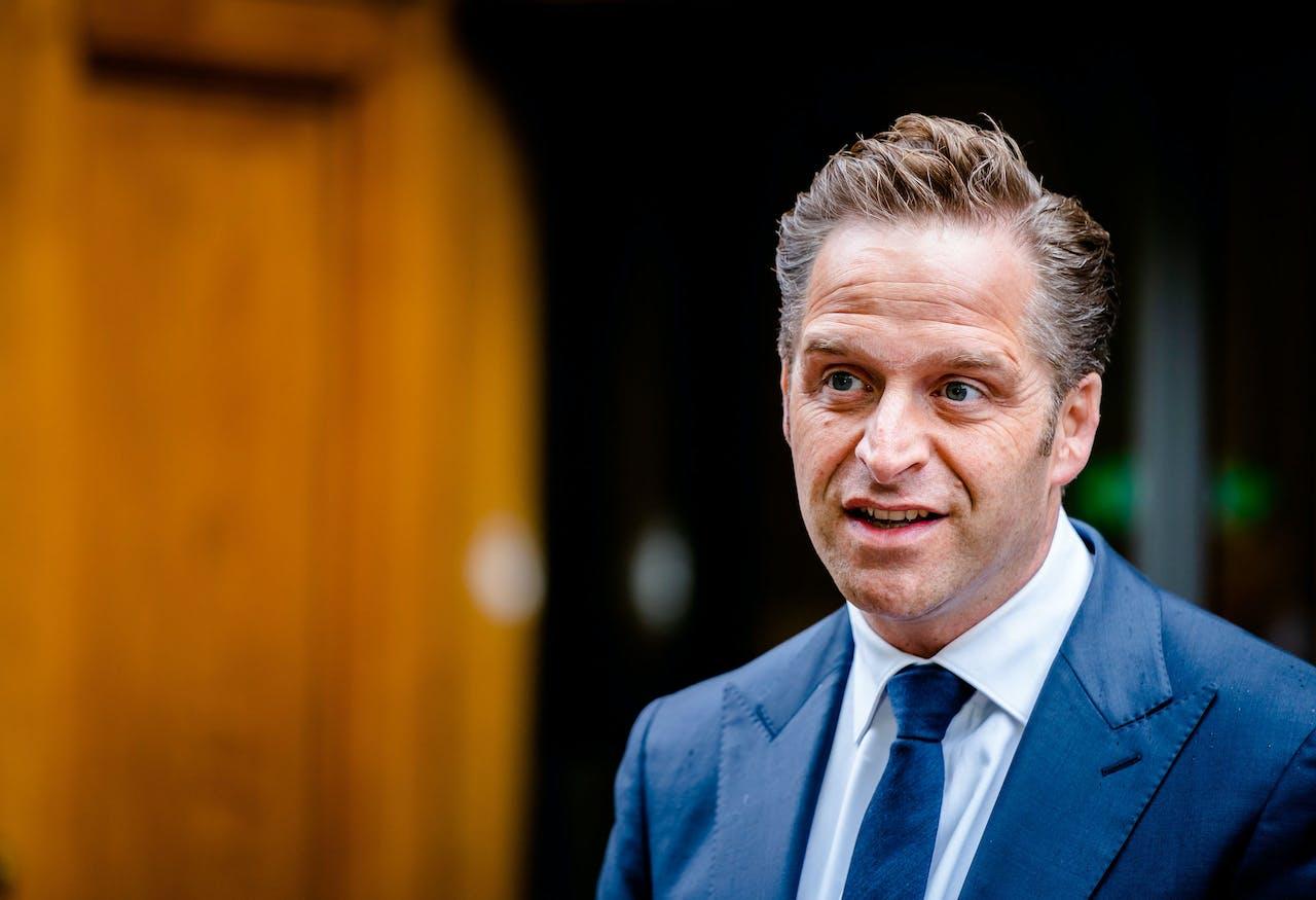 DEN HAAG - Minister Hugo de Jonge van Volksgezondheid, Welzijn en Sport (CDA).