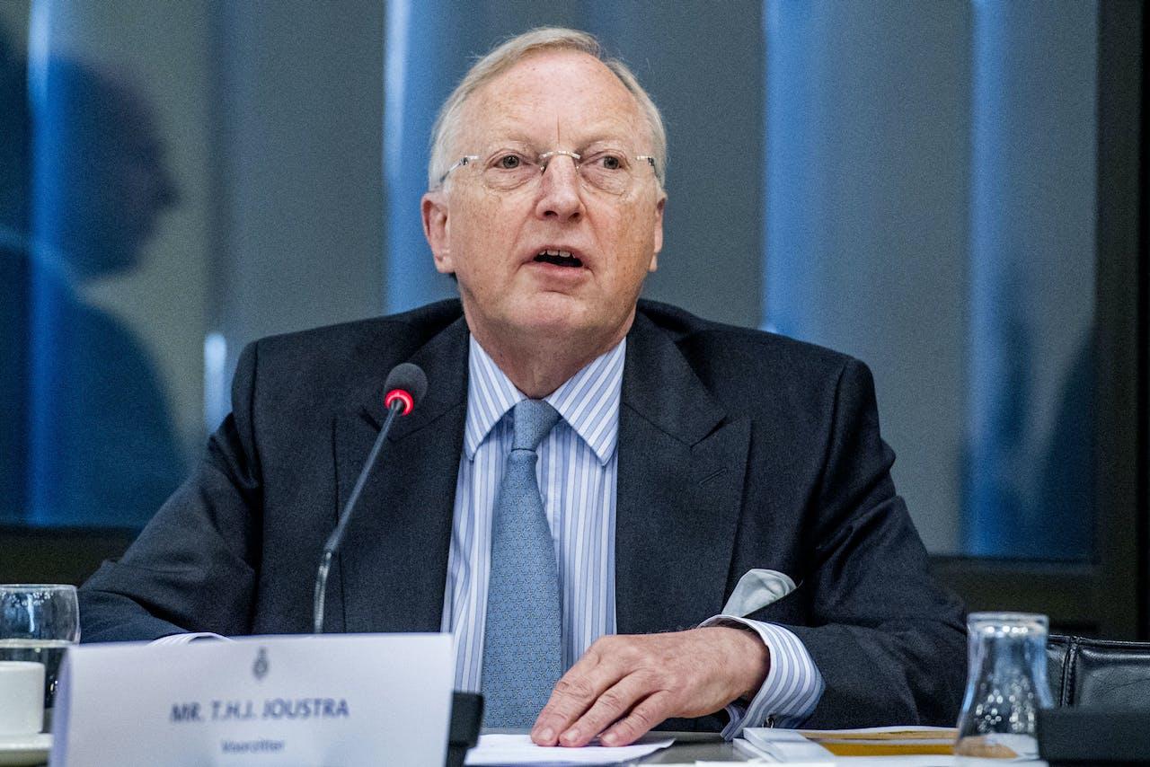 Voorzitter van de OVV Tjibbe Joustra