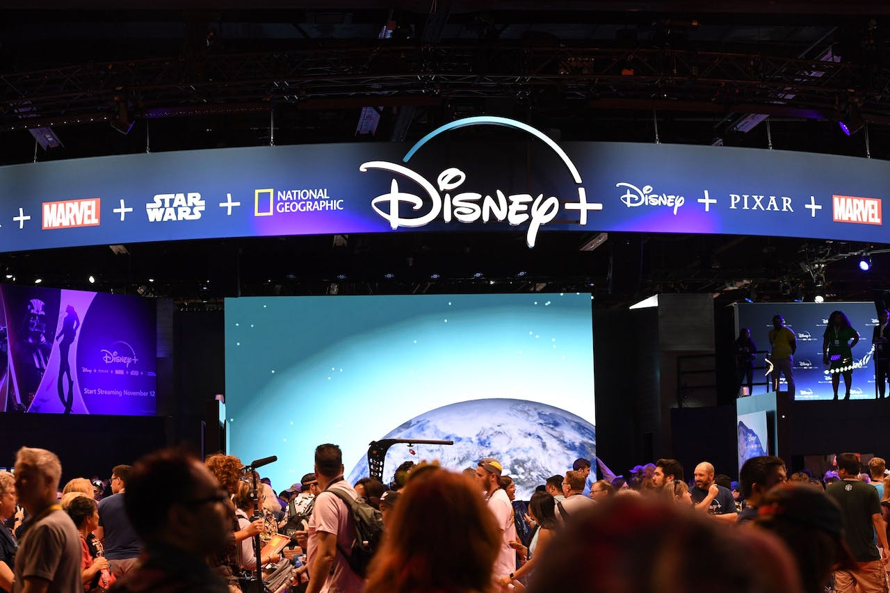De streamingdienst van Disney moet concurreren met Netflix, Amazon, HBO Now en binnenkort Apple TV Plus.