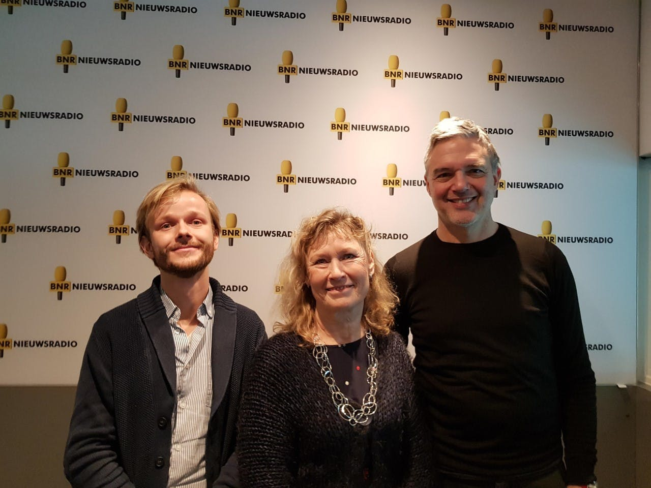 V.l.n.r.: Merlijn Blok, Elphi Nelissen en Paul Laseur