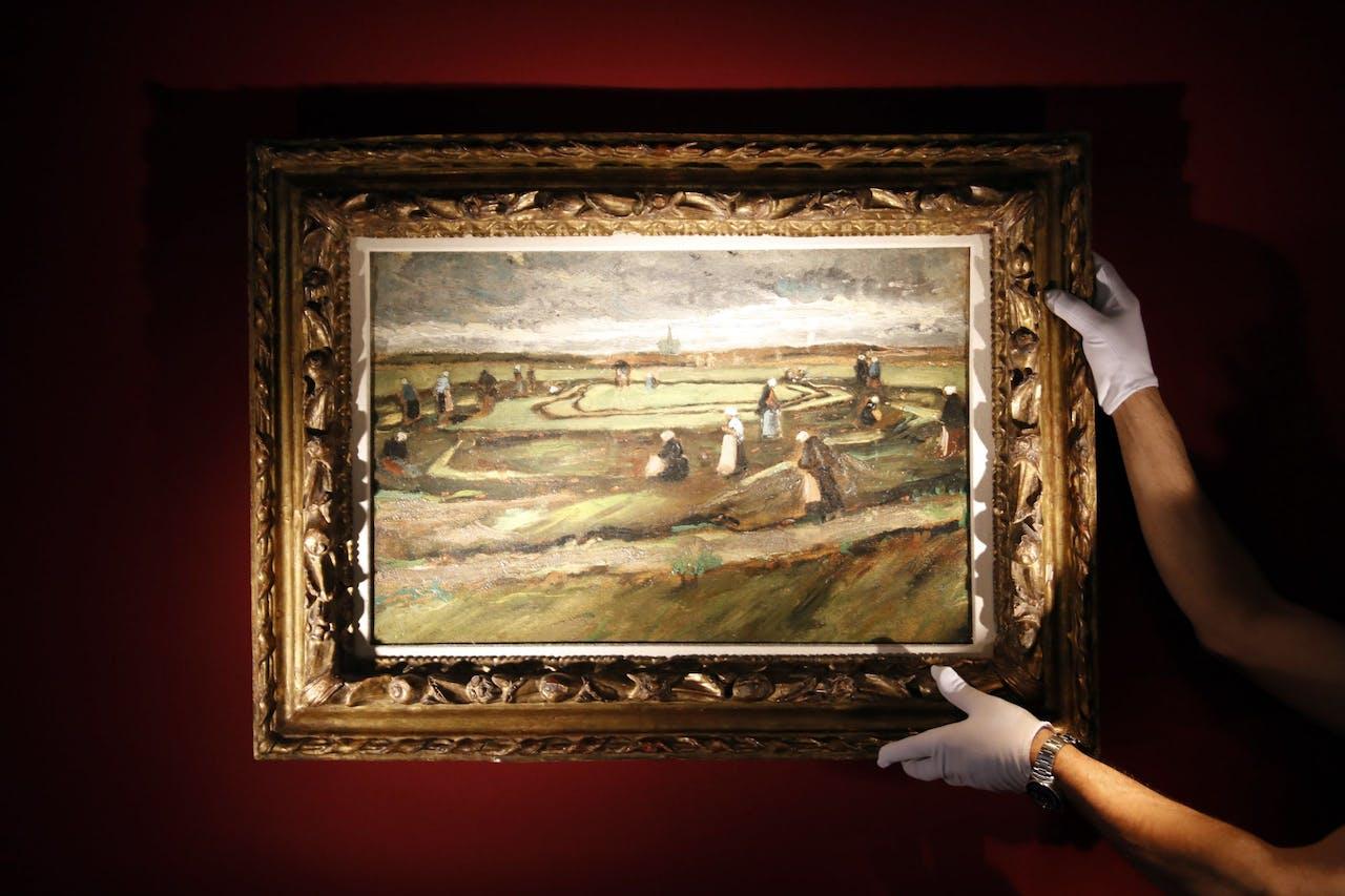 Het betreffende schilderij