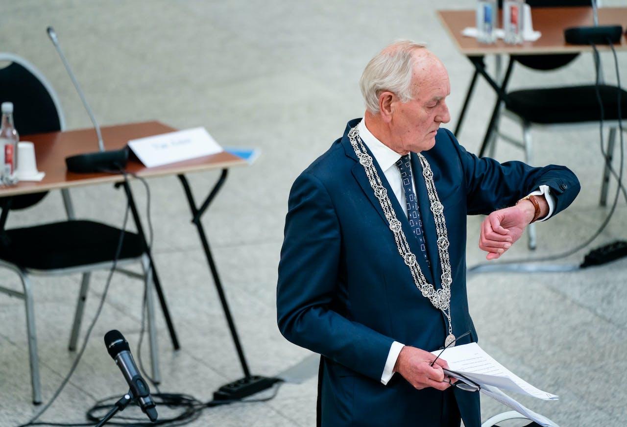 Burgemeester Johan Remkes van Den Haag