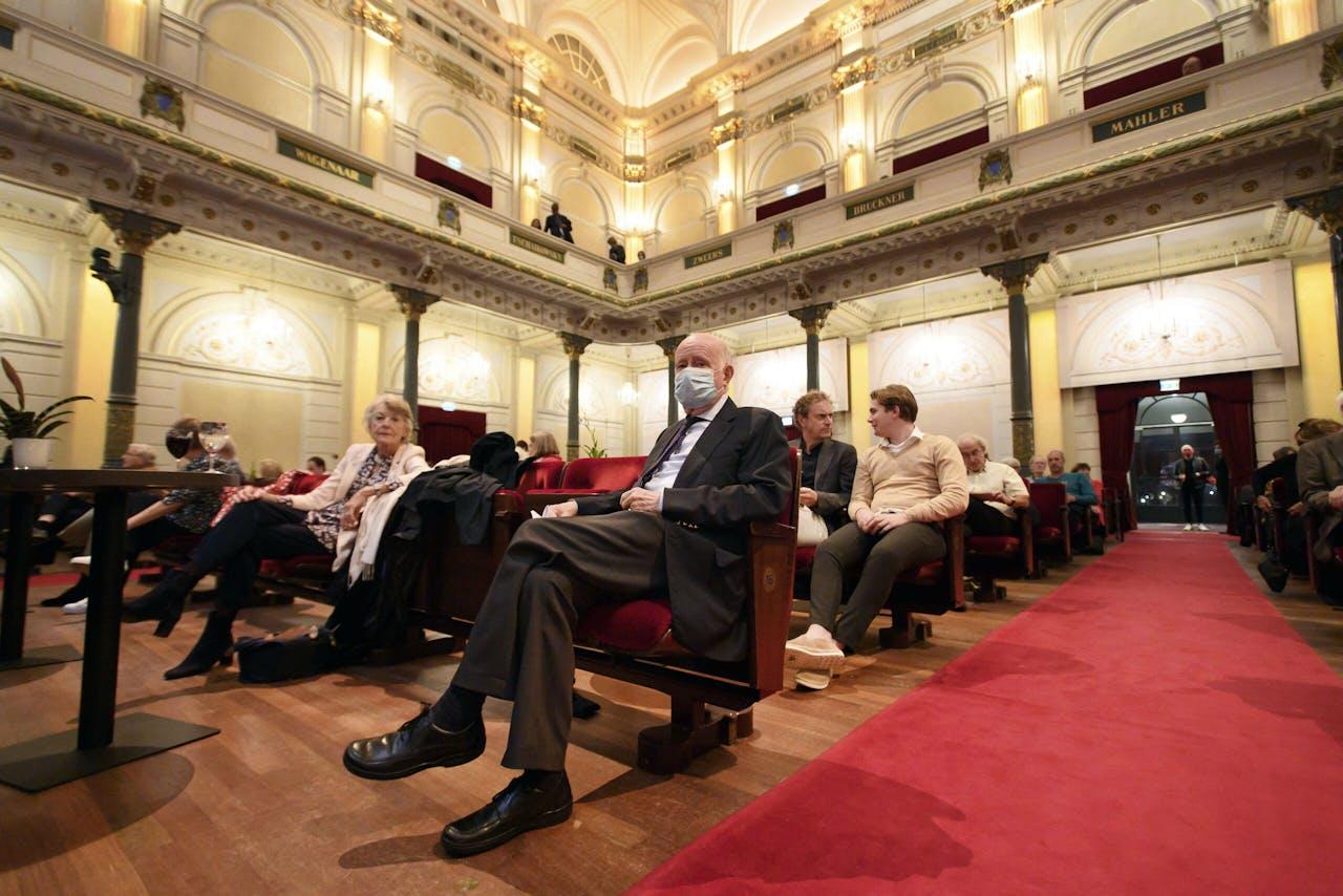 Beperkt bezoek in het Concertgebouw