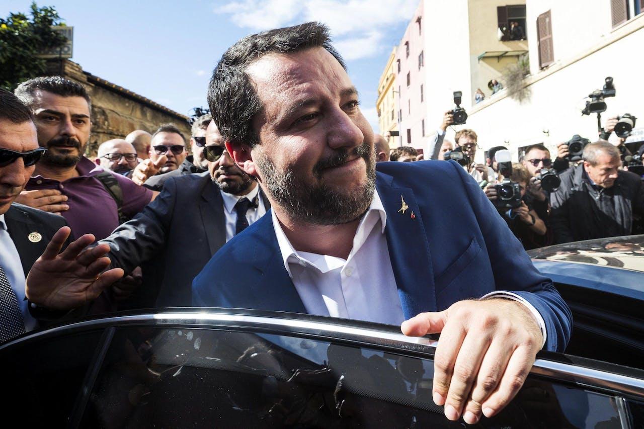 Vice-premier Matteo Salvini EPA/ANGELO CARCONI