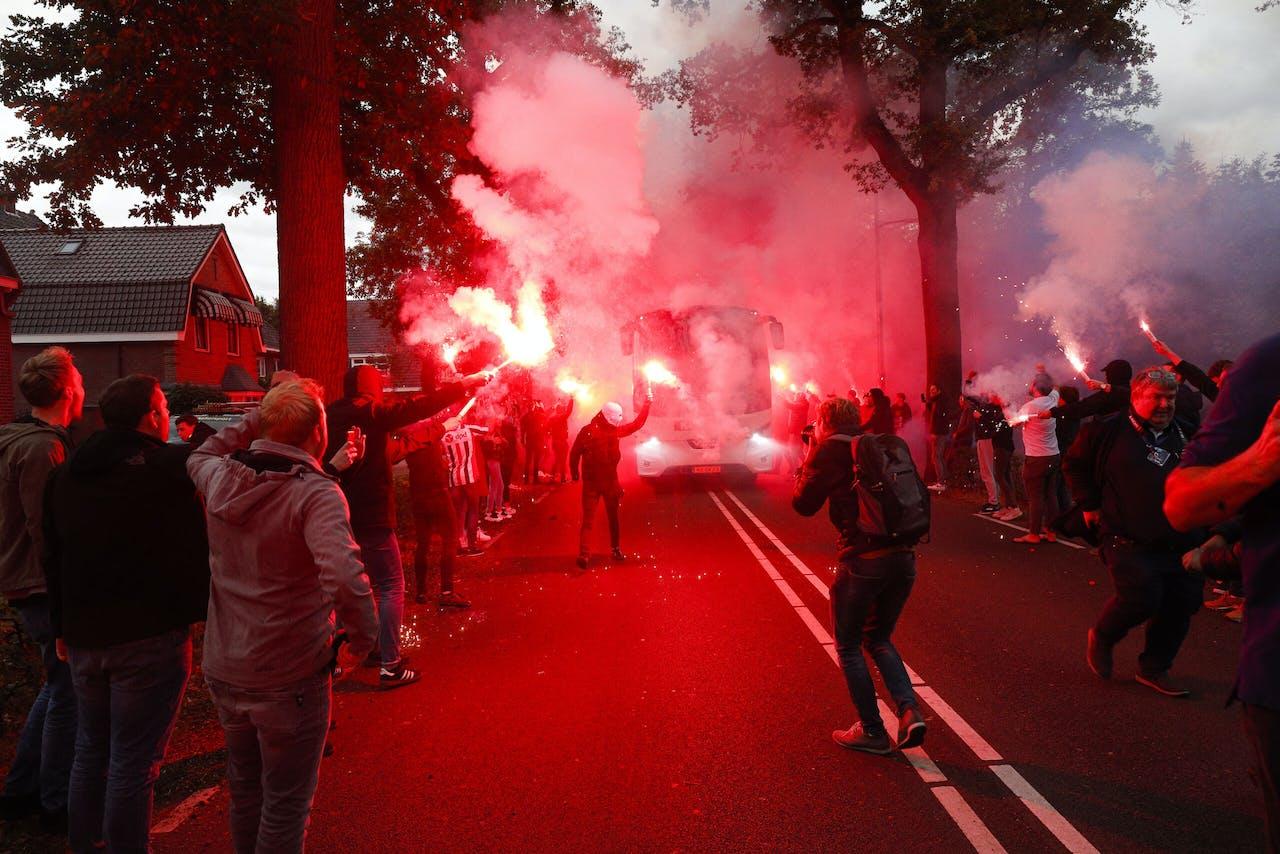 Supporters van Willem II