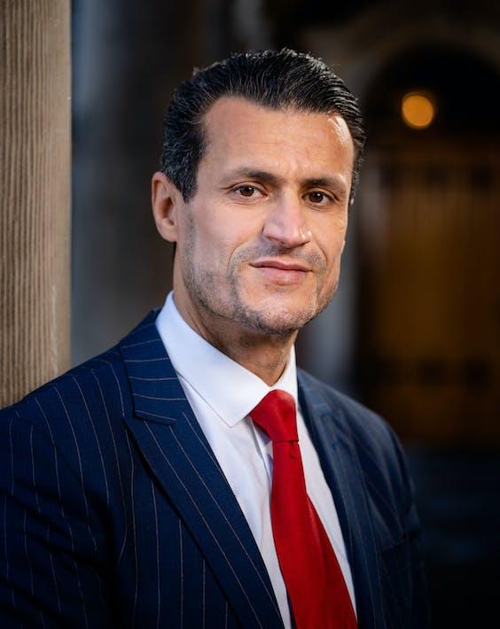 Farid Azarkan, lijsttrekker en Tweede Kamerlid voor DENK